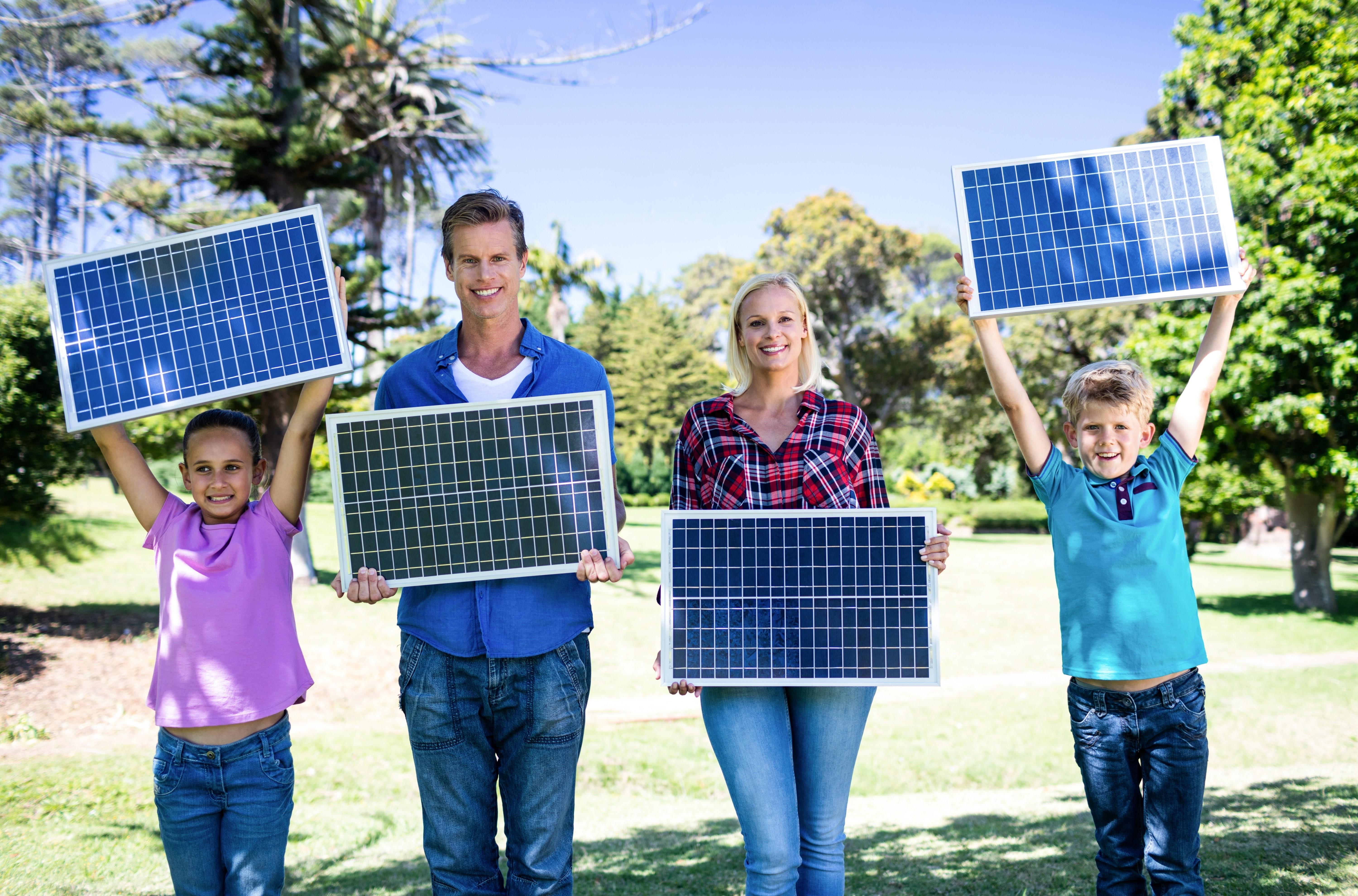 impianto fotovoltaico famiglia