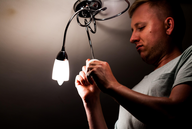 lampada montata